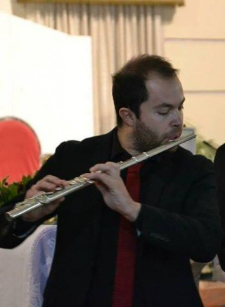 Marco Di Meco. Classical concert in Mater Domini.Italy, 2012
